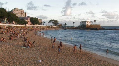 Brazil: Beach Games Stock Footage