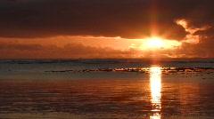 Brazil: Sunrise over the sea. Stock Footage