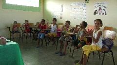 Elementary School in Brazil - stock footage