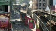 Kuala Lumpur Transport 01 Stock Footage