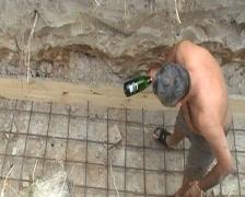 Man crush bottle Stock Footage