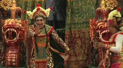 Balinese Cross Dresser 1 Stock Footage