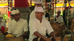 Bali Temple Ceremony 81 Stock Footage