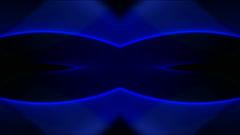 Blue neon light,flare laser banner background,wedding pattern,dream,mind,fantasy Stock Footage