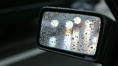 Side mirror. 2 of 2. Stock Footage