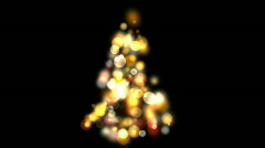 Christmas tree. - stock footage