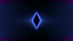 Color diamond neon light,flare laser grid background,wedding pattern,dream,mind Stock Footage