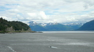 Cook Inlet Anchorage P HD 8086 Stock Footage