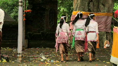 Bali Temple Ceremony 77 Stock Footage