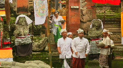 Bali Temple Ceremony 73 Stock Footage