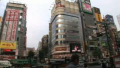 Shinjuku 17 - Tokyo, Japan Stock Footage