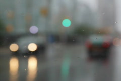 Rainy wipers with sound. SD. Stock Footage