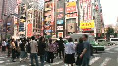 Shinjuku 15 - Tokyo, Japan Stock Footage