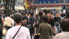 Shinjuku 23 - People - Tokyo Japan Stock Footage