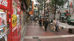 Shinjuku 30 - People - Consumerism Stock Footage