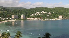 Awesome Shot of Jamaica in Time Lapse 1 Stock Footage