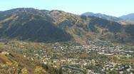 Stock Video Footage of Fall Foliage Autumn in Aspen, Colorado