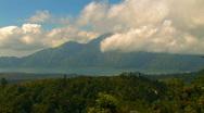 Stock Video Footage of Gunung Batur Volcano