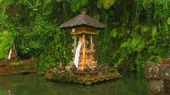 Pura Tirta Empul Temple, Bali. Stock Footage