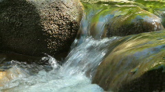 mountain stream. - stock footage
