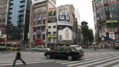Shinjuku 38 - Tokyo, Japan Stock Footage