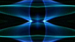 Blue neon light,flare laser banner background,Dazzling disco ray.Design,pattern Stock Footage