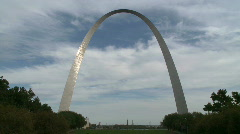 St. Louis Arch (13 of 19) Stock Footage