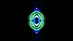 Fiber optic,disco rhythm light,Magnetic field,tech grid background,wedding Stock Footage