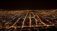 Stock Video Footage of Salta at Night