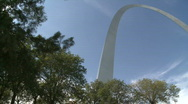 St. Louis Arch (18 of 19) Stock Footage