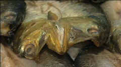 Fish for sale 002 Stock Footage