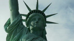 Statue of Liberty Time Lapse - Clip 1 - stock footage