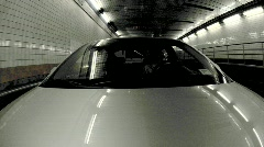 Driving through Tunnel in NYC - Time Lapse - stock footage
