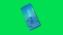 Cellphone Green Screen 4 Stock Footage