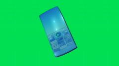 Cellphone Green Screen 4 - stock footage