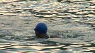 Stock Video Footage of swim 14