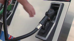 At The Pump Stock Footage