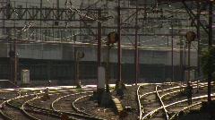 Trem em São Paulo - stock footage