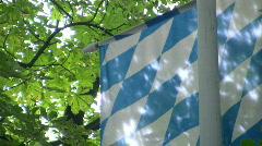 Bavarian Flag 1080 HD Stock Footage