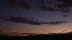 Timelapse Clouds - Chatsworth Evening clouds Stock Footage