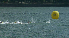 Triathlon 04 Stock Footage