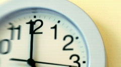 WallClock003 Stock Footage