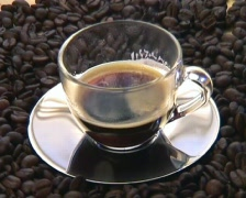 Coffe cup - stock footage