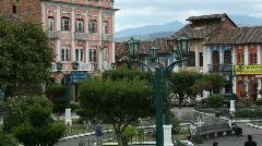 Andean town, Sangolqui, near Quito, Ecuador Stock Footage