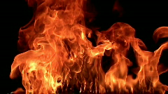 Fire flame / 8х slow motion Stock Footage