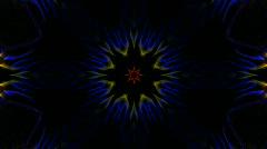 Color flower pattern,Fantasy fiber tissue,spiderweb.Design,pattern,symbol,dream Stock Footage