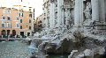 Trevi fountain, Rome Footage