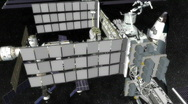 Space Station Rotate Stock Footage