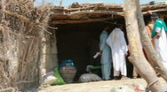 Stock Video Footage of Village Destroyed by Floods in Pakistan