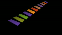 Rectangle line Stock Footage